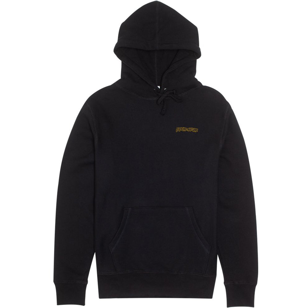 Fucking Awesome Flowers Hoodie black