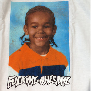 Fucking Awesome Nakel Smith Class Photo white T shirt
