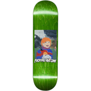 Fucking Awesome Painted Aidan blue deck 8.5""