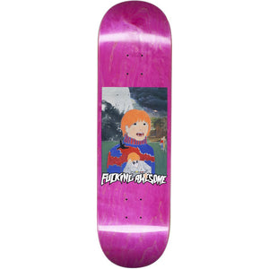 Fucking Awesome Painted Aidan brown deck 8.5""