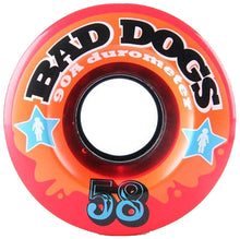 Load image into Gallery viewer, Girl Bad Dogs red 58mm wheels