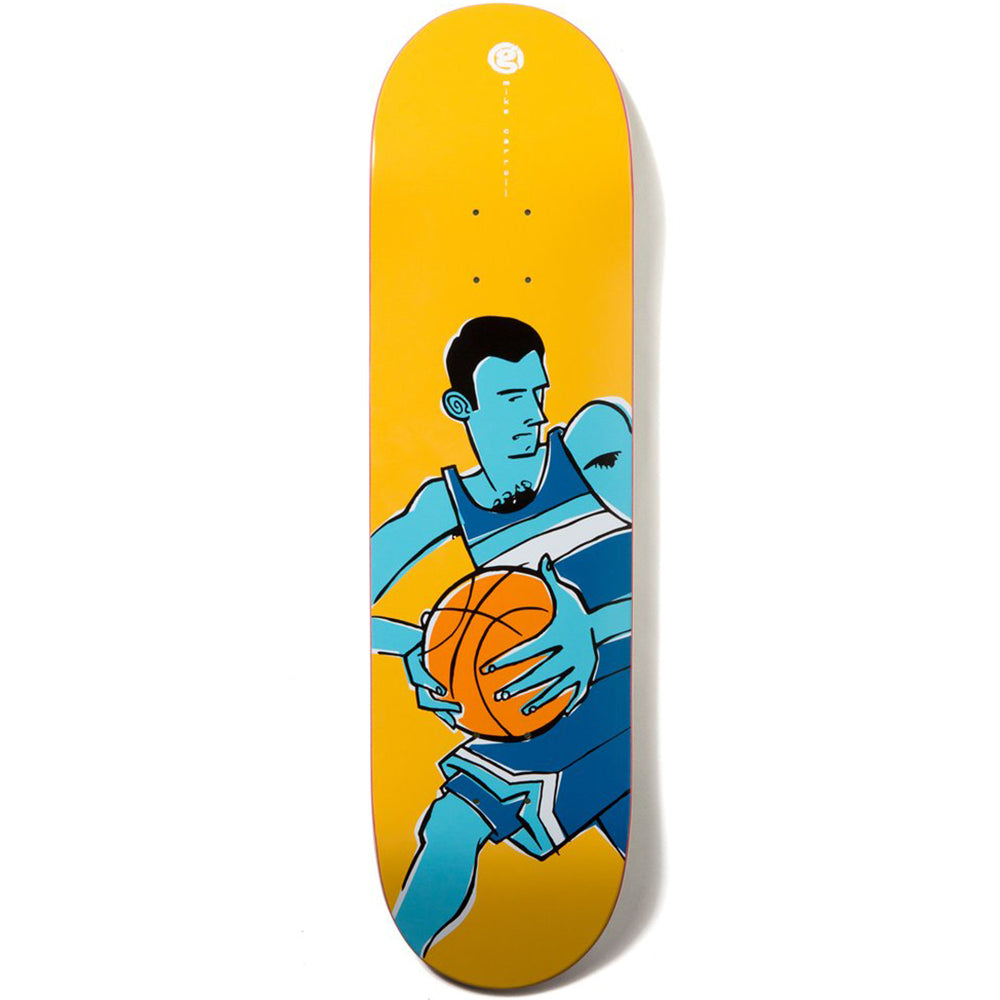 Girl Carroll Crail Classics Basketball deck 8.375