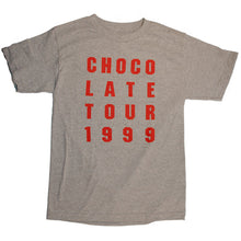 Load image into Gallery viewer, Girl Chocolate Tour Grey T Shirt