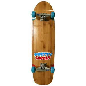 Crailtap Pretty Sweet Bamboo Cruiser complete skateboard