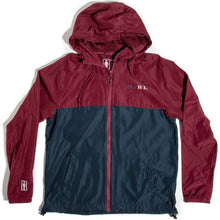 Load image into Gallery viewer, Girl Classic Serif Windbreaker burgundy