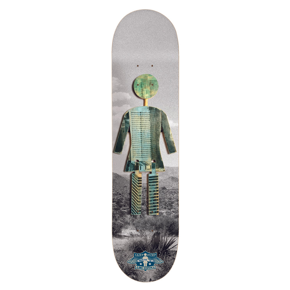 Girl Koston Art Dump OG deck