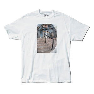 Girl Mike Blabac Gino white T shirt