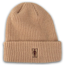 Load image into Gallery viewer, Girl OG Folded khaki beanie