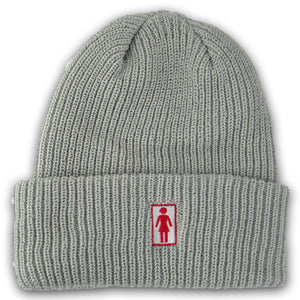 Girl OG Folded grey beanie