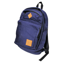 Load image into Gallery viewer, Girl Simple Canvas Backpack blue