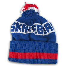 Load image into Gallery viewer, Girl Type Pom Pom royal blue beanie