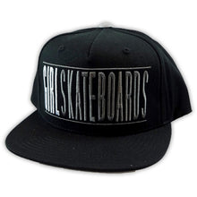 Load image into Gallery viewer, Girl Bars black/grey starter snapback cap 2