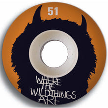 Load image into Gallery viewer, Girl Where The Wild Things Are 51mm wheels