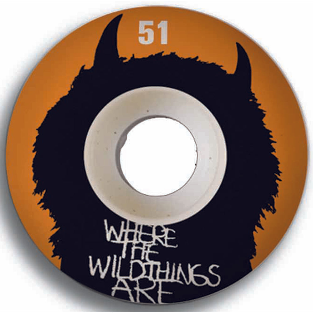 Girl Where The Wild Things Are 51mm wheels
