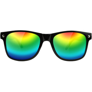 Glassy Leonard sunglasses black/colour mirror