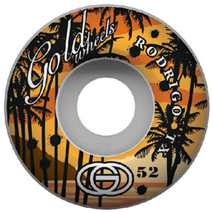 Gold TX Sunset 52mm wheels