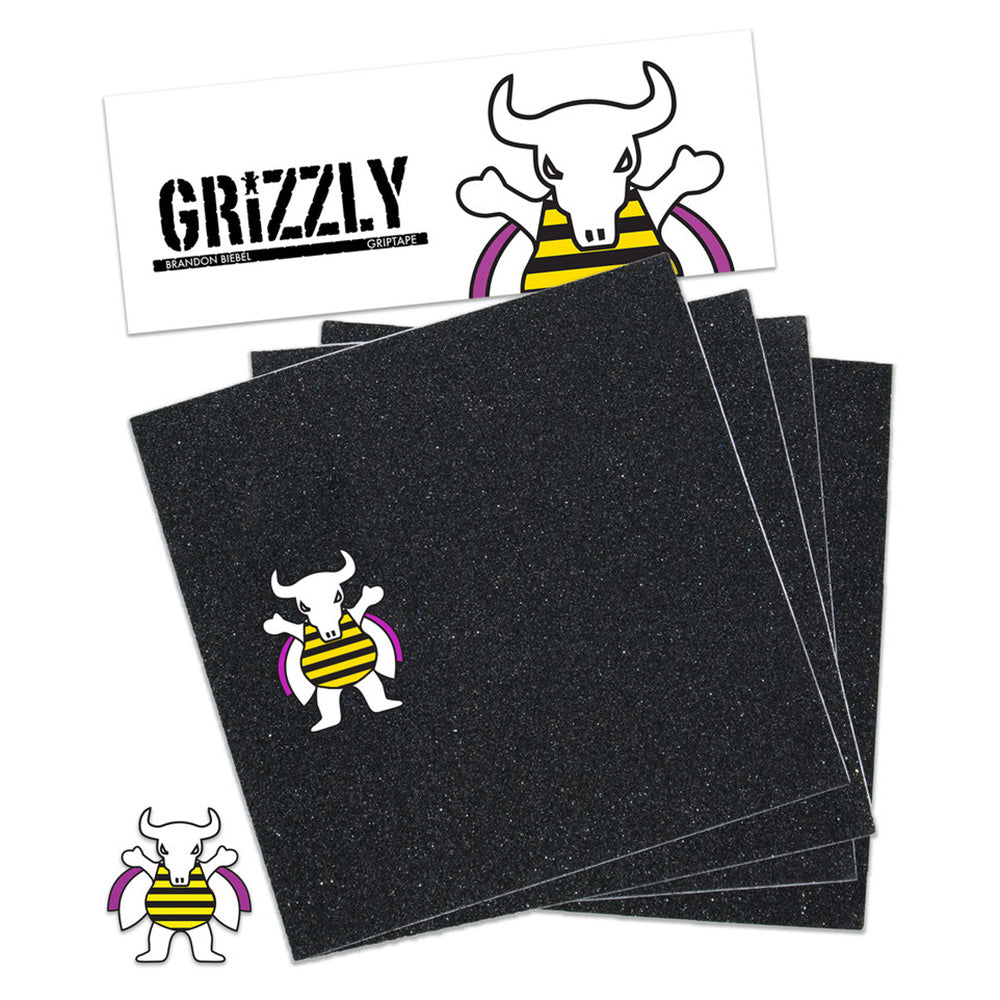Grizzly Biebel grip tape sheet