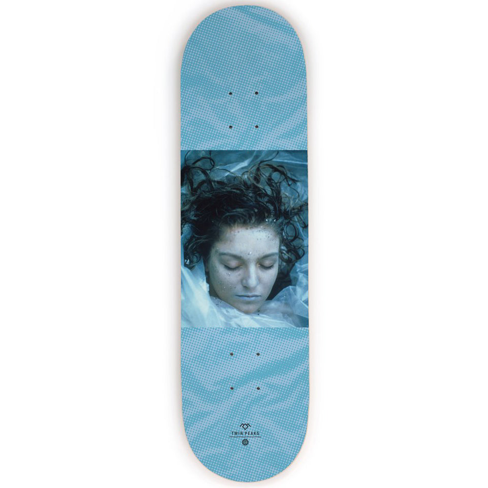 Habitat x Twin Peaks Wrapped In Plastic deck 8.5