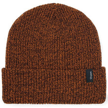 Load image into Gallery viewer, Brixton Heist athletic/orange brown beanie