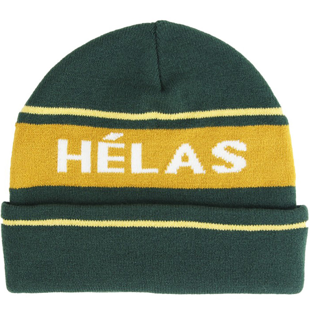 Hélas beanie green/orange