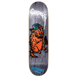 Heroin Childress SKGBRDS deck 8.5""