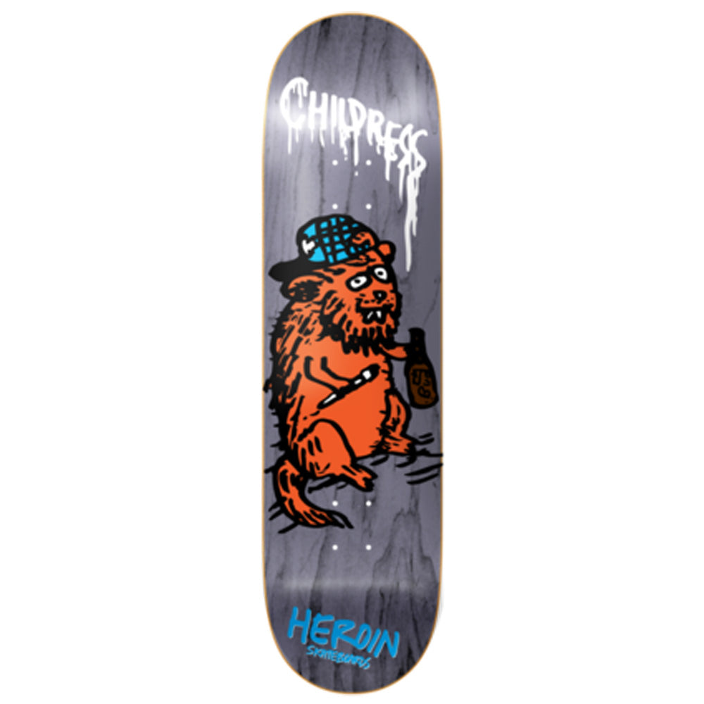 Heroin Childress SKGBRDS deck 8.5