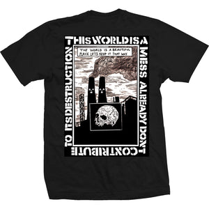 Heroin Mess black T shirt