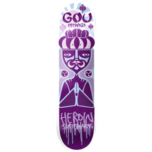 Load image into Gallery viewer, Heroin Miyagi Scatter Brians deck 8.125""