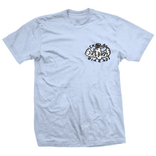 Load image into Gallery viewer, Heroin Skgbrds light blue T shirt