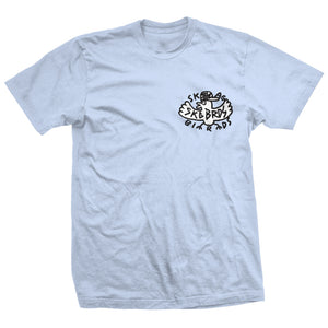 Heroin Skgbrds light blue T shirt