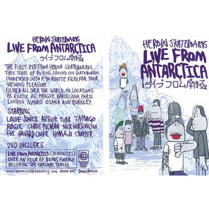 Heroin Live From Antarctica DVD