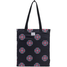 Load image into Gallery viewer, Herschel x Independent Packable Tote black/multi-cross