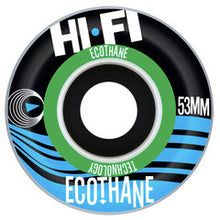 Load image into Gallery viewer, Hi-Fi Ecothane 53mm wheels