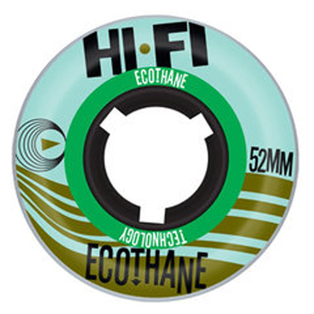 Hi-Fi Ecothane 52mm wheels