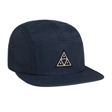 Load image into Gallery viewer, HUF 60/40 navy 5 panel cap