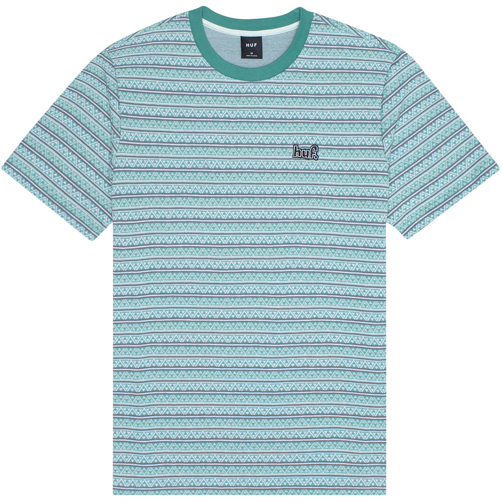 HUF Allen Knit Top harbor grey