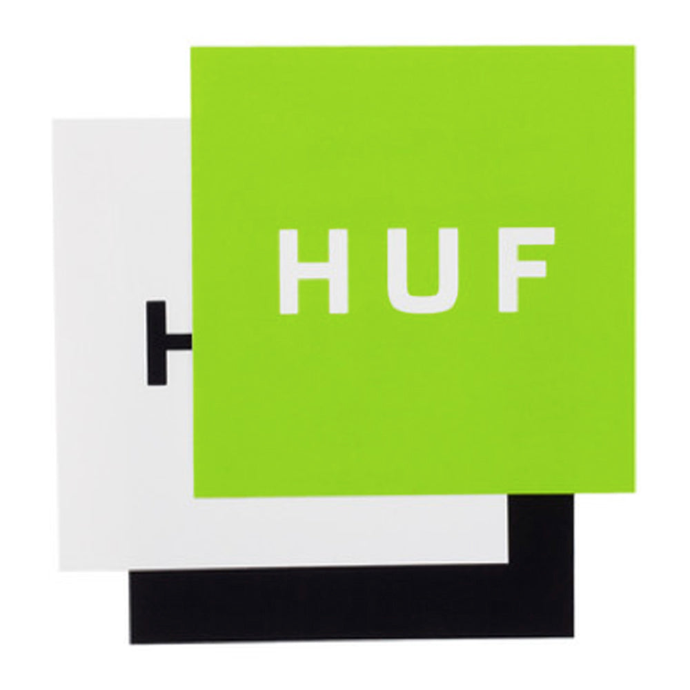 HUF Box Logo 25 sticker pack