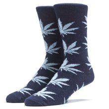 Load image into Gallery viewer, HUF Cashmere Plantlife navy/ballad blue socks