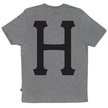 Load image into Gallery viewer, HUF Classic H grey heather pocket T shirt