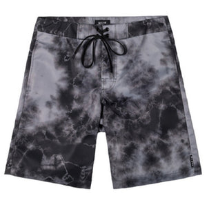 Huf Crystal Washed black board shorts