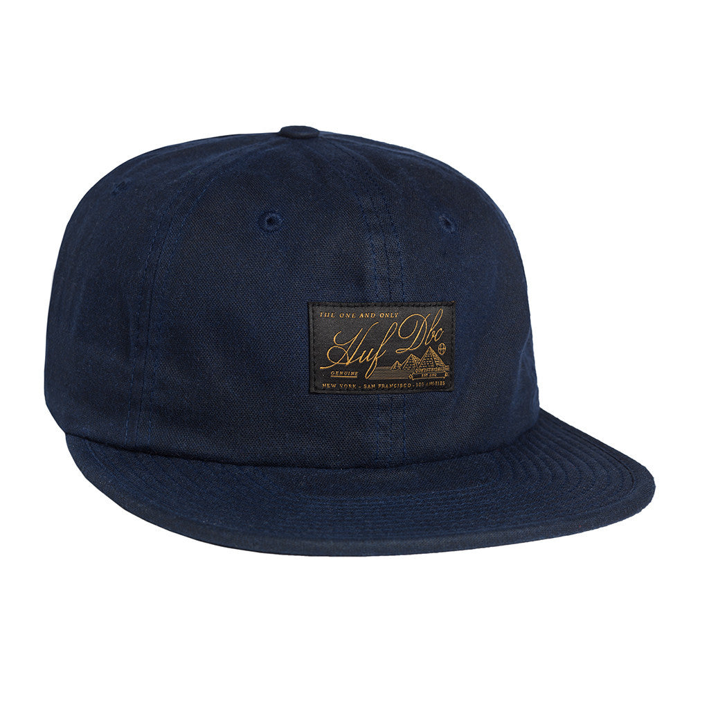 HUF Expedition navy 6 panel cap