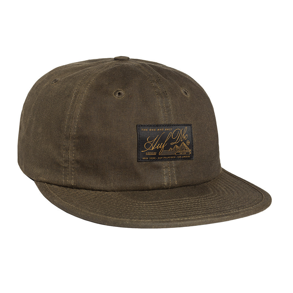HUF Expedition olive 6 panel cap