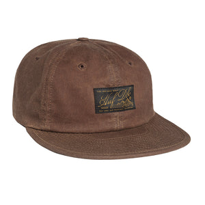 HUF Expedition tobacco 6 panel cap