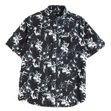 Load image into Gallery viewer, Huf Floral short sleeve black shirt
