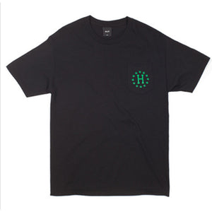 HUF x High Times black galaxy pocket T shirt