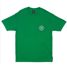 Load image into Gallery viewer, HUF x High Times green galaxy pocket T shirt