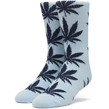 Load image into Gallery viewer, HUF Plantlife crew socks forever blue