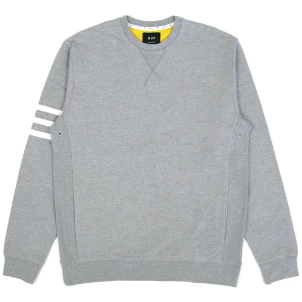 HUF Pocket heather grey crew