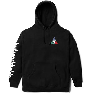HUF Prism Triple Triangle pullover hoodie black