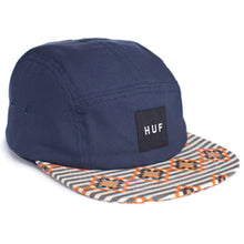 Load image into Gallery viewer, HUF Native Duck Volley navy 5 panel cap